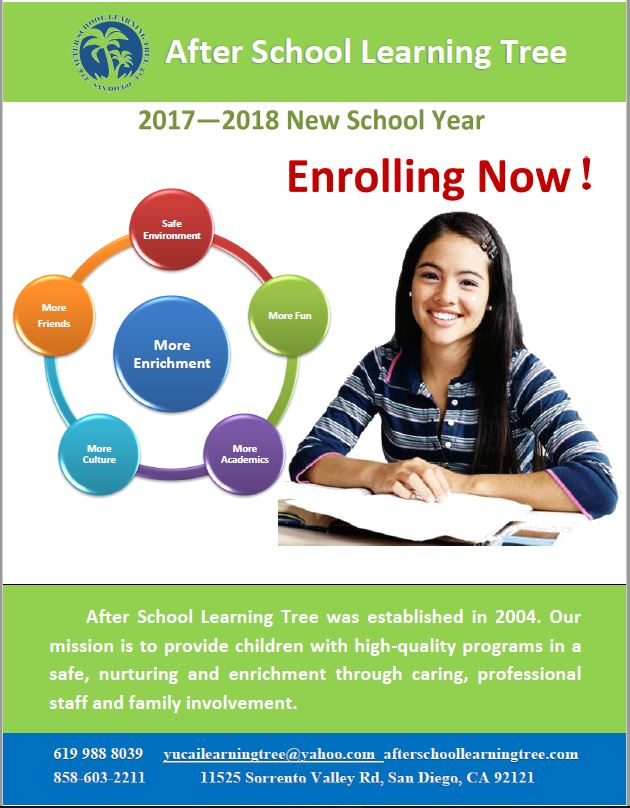 2017-2018 new school year news poster